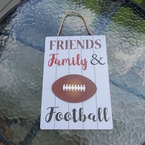 Other - Friends, Family & Football Plaque
